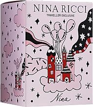 Parfums et Produits cosmétiques Nina Ricci Nina - Coffret (eau de toilette/80ml + eau de toilette roll-on/10ml)