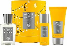 Parfums et Produits cosmétiques Acqua Di Parma Colonia Pura - Coffret (Eau de Cologne/100ml + Gel douche/75ml + Déodrant spray/50ml)