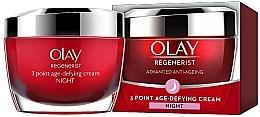 Parfums et Produits cosmétiques Crème de nuit anti-âge - Olay Regenerist 3 Point Age-Defying Cream Night