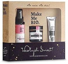 Parfums et Produits cosmétiques Make Me Bio Garden Roses - Set (crème pour visage/60ml + eau de rose/100ml + crème pour mains/30ml)