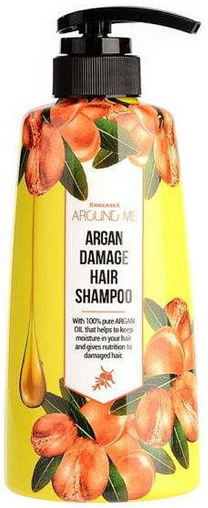 Shampooing à l'huile d'argan - Welcos Around Me Argan Damage Hair Shampoo — Photo N1
