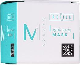 Parfums et Produits cosmétiques Masque à l'huile d'argan pour visage - AQUAYO Aqua Face Mask (recharge)