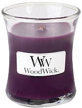 Parfums et Produits cosmétiques Bougie parfumée en jarre avec mèche en bois Mûre épicée - WoodWick Hourglass Candle Spiced Blackberry