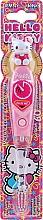 Parfums et Produits cosmétiques Brosse à dents souple avec minuteur de brossage - VitalCare Hello Kitty