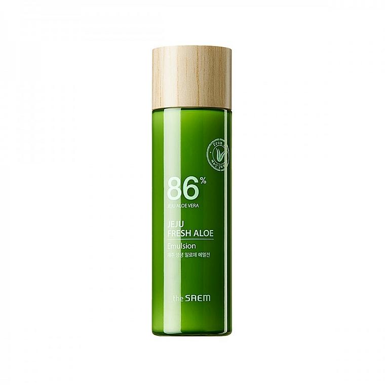 Émulsion à l'aloe vera pour visage - The Saem Jeju Fresh Aloe Emulsion