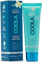 Parfums et Produits cosmétiques Crème solaire pour visage, Thé blanc - Coola Classic Sport Face Spf 50 White Tea