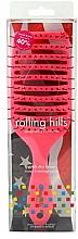 Parfums et Produits cosmétiques Brosse à cheveux pour séchage rapide, rose - Rolling Hills Hairbrushes Quick Dry Brush Pink