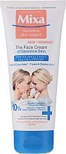 Parfums et Produits cosmétiques Crème à l'huile d'amande pour visage et yeux - Mixa Sensitive Skin Expert Face Cream Of Sensative Skin