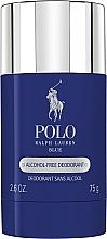 Parfums et Produits cosmétiques Ralph Lauren Polo Blue - Déodorant sans alcool aux vitamines