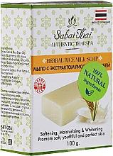 Parfums et Produits cosmétiques Savon à l'extrait de sons de riz - Sabai Thai Herbal Rice Milk Soap
