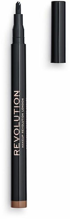Crayon à sourcils - Makeup Revolution Micro Brow Pen