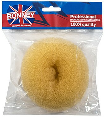 Donut cheveux, 11x4,5 cm, beige - Ronney Professional Hair Bun