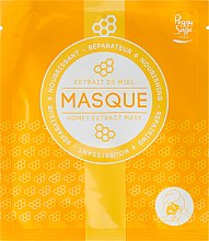 Parfums et Produits cosmétiques Masque tissu au miel pour visage - Peggy Sage Nourishing and Repairing Mask