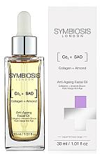 Parfums et Produits cosmétiques Huile au collagène et amande pour visage - Symbiosis London Anti-Ageing Facial Oil