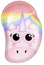 Parfums et Produits cosmétiques Brosse à cheveux pour enfant - Tangle Teezer The Original Mini Children Detangling Hairbrush Rainbow The Unicorn