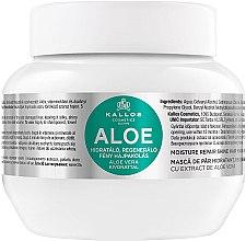 Parfums et Produits cosmétiques Masque à l'aloe vera pour cheveux - Kallos Cosmetics Moisture Repair Aloe Hair Mask