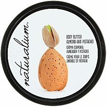 Parfums et Produits cosmétiques Crème à l'extrait d'amande et pistache pour corps - Naturalium Body Butter Almond And Pistachio