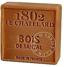 Parfums et Produits cosmétiques Savon carré au bois de santal - Le Chatelard 1802 Soap Sandalwood