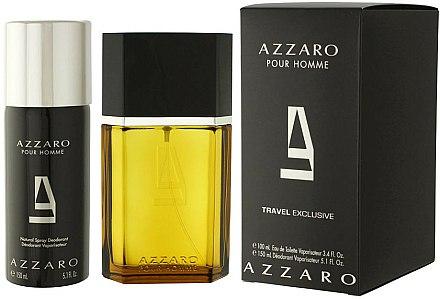 Azzaro Pour Homme Travel - Coffret (eau de toilette/100ml + déodorant/150ml) — Photo N1