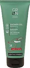 Parfums et Produits cosmétiques Gel douche bio à l'extrait de pomme et huile de chanvre - GRN Essential Elements Apple&Hemp Shower Gel