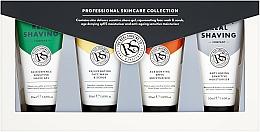Parfums et Produits cosmétiques The Real Shaving Co. - Set (crème/2 x 50 ml + gel à raser/50 ml + gommage50 ml)