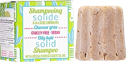 Parfums et Produits cosmétiques Shampooing solide - Lamazuna Solid Shampoo For Oily Hair With Litsea Cubeba