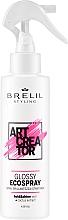 Parfums et Produits cosmétiques Spray à l'extrait de cactus pour cheveux - Brelil Art Creator Glossy Ecospray