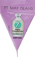 Parfums et Produits cosmétiques Sérum en ampoules à l'acide hyaluronique pour visage - May Island 7 Days Highly Concentrated Hyaluronic Ampoule