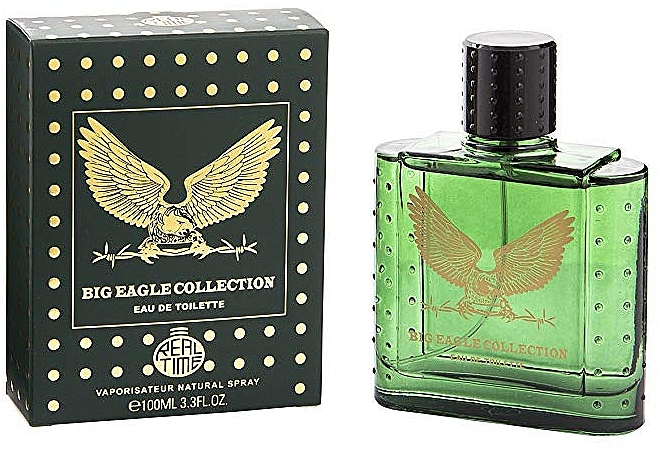 Real Time Big Eagle Collection Green - Eau de Toilette — Photo N1