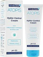 Parfums et Produits cosmétiques Crème à l'huile de graines de chanvre pour visage et corps - Novaclear Atopis Hydro-Control Cream