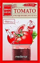 Parfums et Produits cosmétiques Masque en tissu de cellulose Tomate - Mediental Botanic Garden Mask