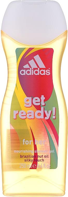 Adidas Get Ready! For Her - Set (déodorant/75ml+gel douche/250ml) — Photo N2