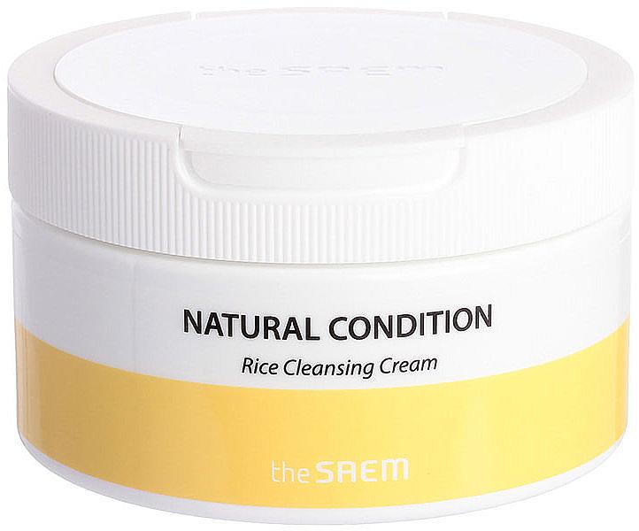Crème de riz nettoyante pour le visage - The Saem Natural Condition Rice Cleansing Cream