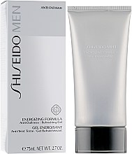 Gel energisant - Shiseido Men Energizing Formula Gel  — Photo N1
