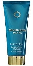 Parfums et Produits cosmétiques Gommage aux minéraux de la mer Morte pour visage - Mineralium Matte&Clear Exfoliating Scrub
