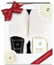 Parfums et Produits cosmétiques Baylis & Harding Sweet Mandarin & Grapefruit - Coffret cadeau(lotion pieds/140ml +cristaux pieds/100g + chaussons)