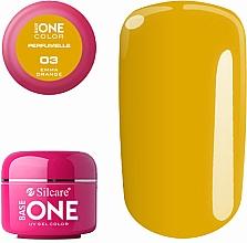 Parfums et Produits cosmétiques Gel base pour ongles - Silcare Base One Perfumelle UV Gel Color