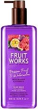 Parfums et Produits cosmétiques Gel lavant pour mains, Fruit de la passion et pastèque - Grace Cole Fruit Works Hand Wash Passion Fruit & Watermelon