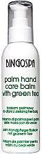Parfums et Produits cosmétiques Baume au thé vert pour mains - BingoSpa Palm Balm For Hands With Green Tea