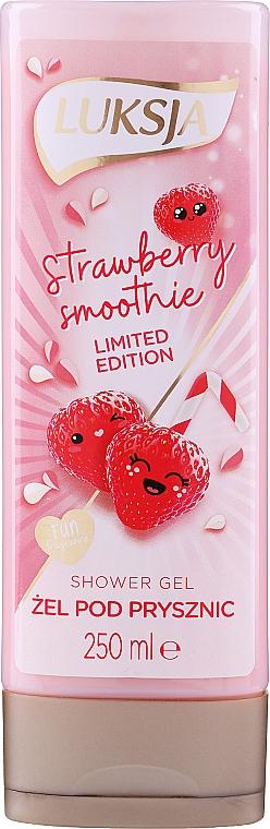 Gel douche, Fraise - Luksja Coconut Strawberry Smoothie Shower Gel