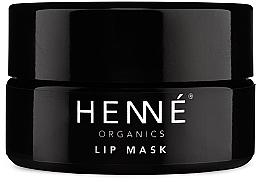 Parfums et Produits cosmétiques Masque à l'huile de jojoba pour lèvres - Henne Organics Lip Mask