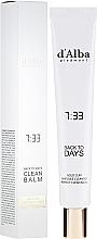 Parfums et Produits cosmétiques Baume nettoyant à l'huile de macadamia pour visage - D'Alba Back To Days Clean Balm
