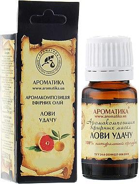 Complexe d'huiles essentielles naturelles Attrapez le bonheur - Aromatika — Photo N1
