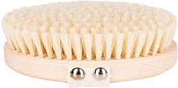 Parfums et Produits cosmétiques Brosse de massage et de bain, fibre douce, marron clair - Miamed