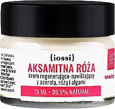 Parfums et Produits cosmétiques Crème aux extraits de rose de Damas et algues pour visage - Iossi Regenerating Cream (mini)