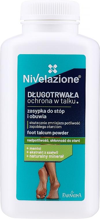Déodorant poudre anti-transpirant - Farmona Nivelazione Foot Talcum Powder