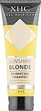 Parfums et Produits cosmétiques Shampooing à l'extrait de curcuma - Xpel Marketing Ltd Hair Care Sunshine Blonde Enhancing Shampoo Tube