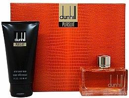 Parfums et Produits cosmétiques Alfred Dunhill Dunhill Pursuit - Set (eau de toilette/75ml + baume après-rasage/150ml)