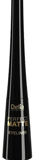 Eyeliner liquide mat - Delia Cosmetics Perfect Matte Eyeliner
