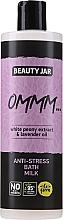 Parfums et Produits cosmétiques Bain moussant anti-stress à l'extrait de pivoine blanche et à l'huile de lavande - Beauty Jar Anti-Stresse Bath Milk